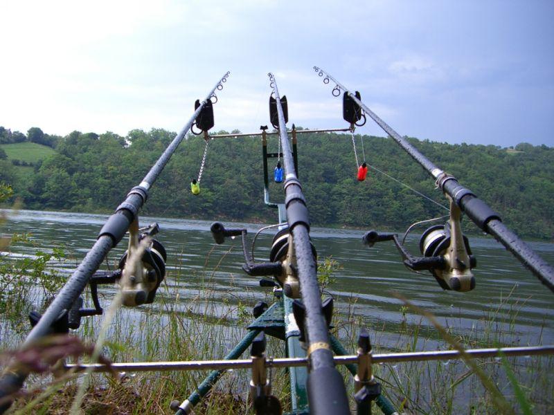 pêcher lac des maury